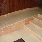 Escaleras de mármol en Madrid
